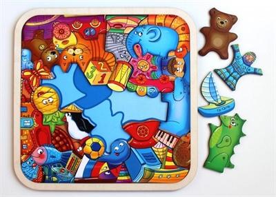 Пазл-головоломка игрушки - фото 4585
