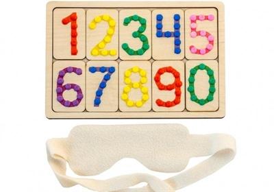 Тактильные цифры - фото 4610