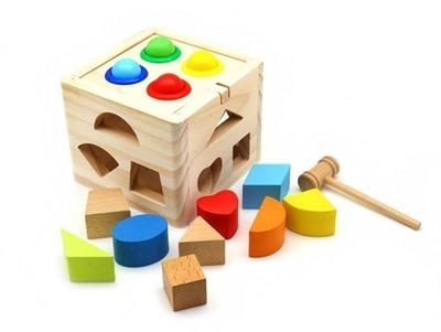 Куб логика стучалка - фото 4908