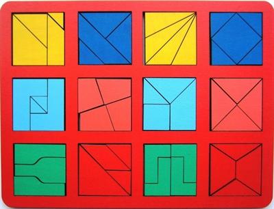 Сложи квадрат Б.П.Никитин 2ур. (МАКСИ) - фото 5311