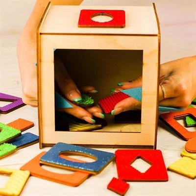 Чудо-куб Сенсорика уценка - фото 5634