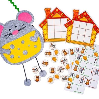 Логическая игра Умные мыши - фото 7330