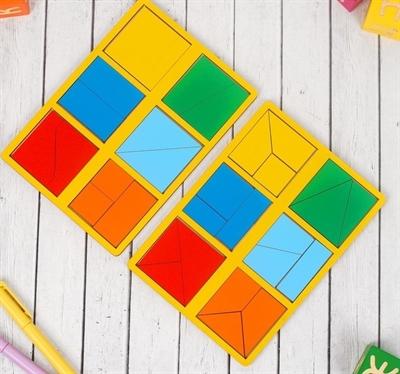 Сложи квадрат Б.П.Никитин 1ур. (мини) - фото 7414