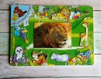 Вкладыш пазл Африканские животные