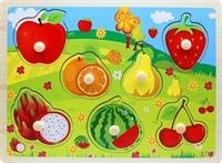 Вкладыши фрукты и ягоды