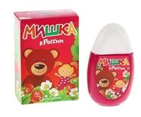 Душистая вода детская Мишка в России, 50 мл