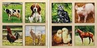 Картинки-половинки Домашние животные 2 планшета