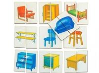 Картинки-половинки Мебель