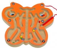 Лабиринт магнитный Бабочка оранжевая