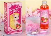 Набор для девочки «Волшебный день» (гель клубничный, 250 мл+ блеск для губ + резинка для волос)