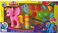 Набор для лепки Пони из цветного теста 20 предметов