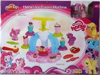 Набор пластилина Фабрика мороженного+2 фигурки пони
