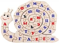 "Пазл Алфавит русский ""Улитка"""