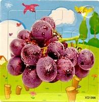 Пазл виноград