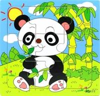 Пазл на 9 эл. Панда