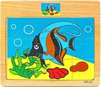 Пазлы 12 элементов Рыбка