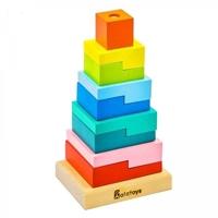 """Пирамидка """"Ступеньки"""", 10 деталей"""