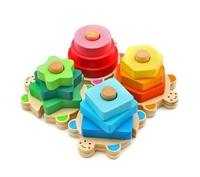 Пирамидка Сортер 4 Черепашки
