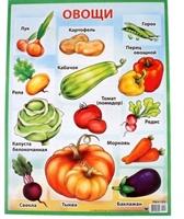"""Плакат """"Овощи"""""""
