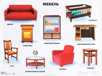 Плакат Мебель