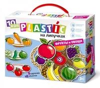 """Пластик на липучках """"Фрукты и овощи"""""""