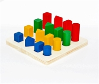 Столбики геометрические