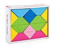 Цветные треугольники (16 дет.)