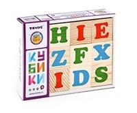 Кубики «Алфавит» английский