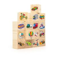 Набор кубиков Транспорт 16 шт