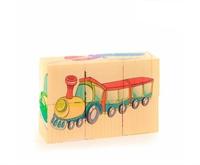 Кубики Транспорт 6 шт