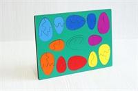 Мозаика-головоломка Радужное лукошко