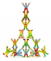 Пирамидка баланс Клоуны