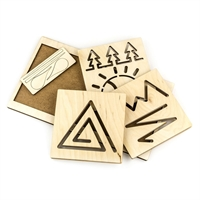 Межполушарная доска Треугольник