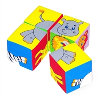 """Кубики """"Собери картинку"""" (Животные 2)"""