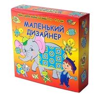 """Настольная игра """"Маленький дизайнер"""""""