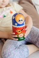 Матрешка Балалайка 5 кукольная
