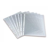 Файл-вкладыш А4, прозрачный, глянцевый, вертикальный, 100 шт.