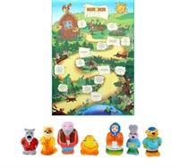 Набор резиновых игрушек «Колобок»