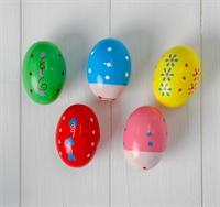 Маракас «Яйцо» 4,5×4,5×7 см, в ассортименте